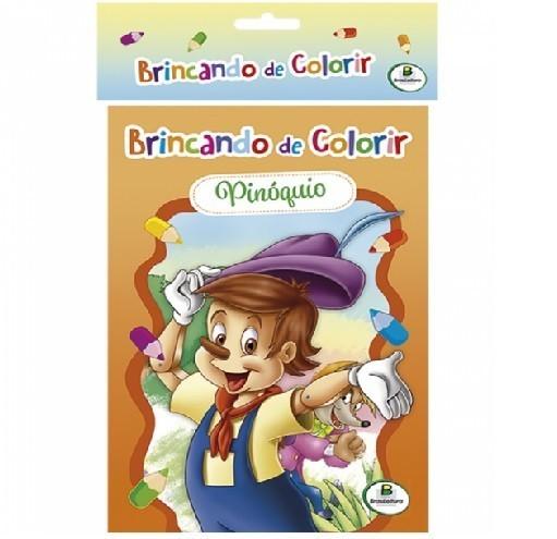 Livro - Brincando de Colorir - Kit com 10 Unidades