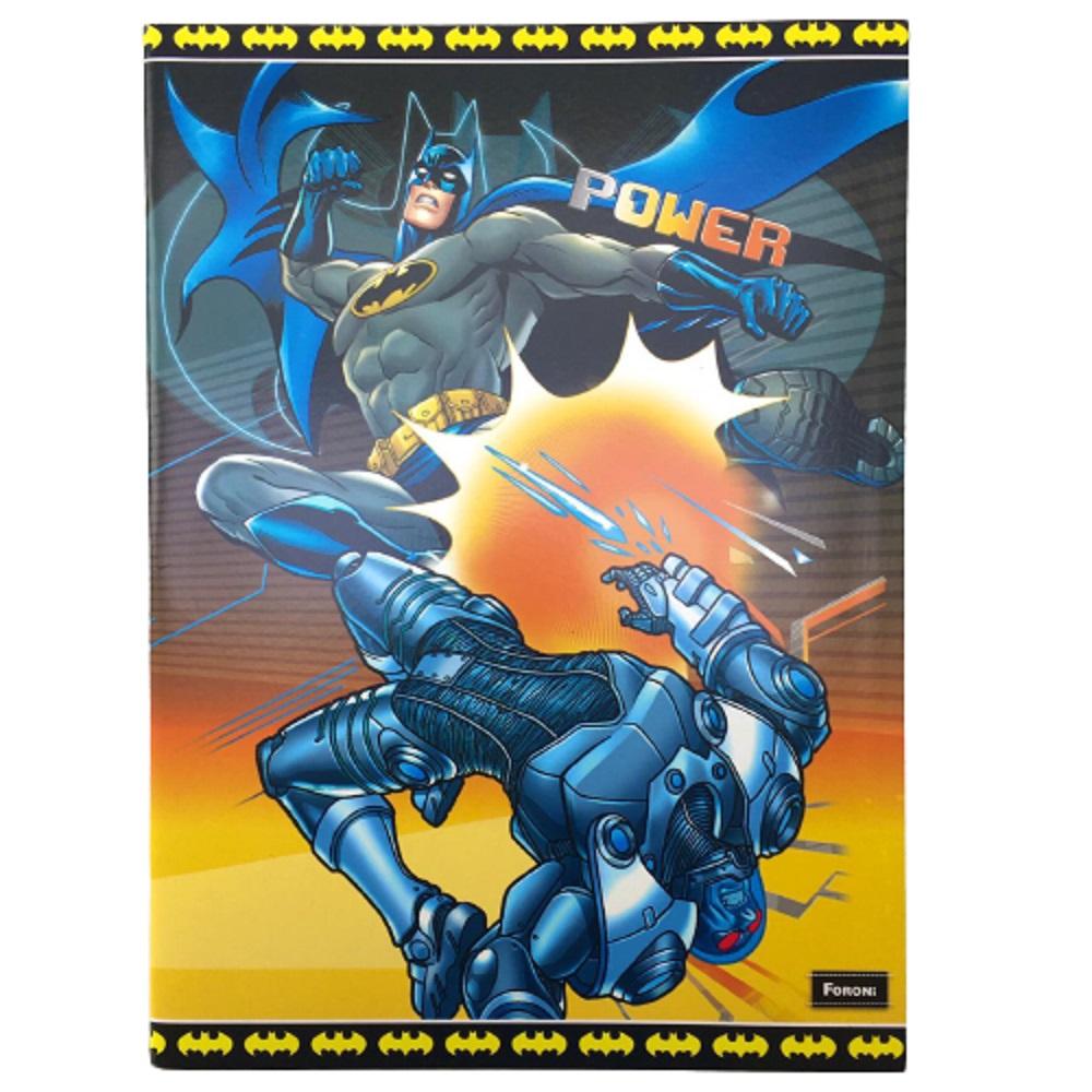 Caderno Brochurão Capa flexível - Batman 60 Folhas - Foroni