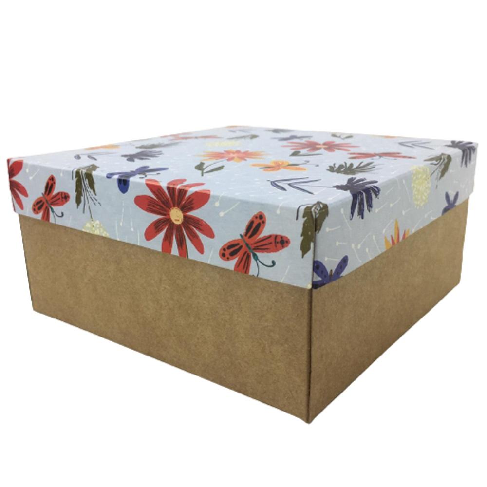 Caixa de Presente 170 x 170 x 80 cm Estampas variadas