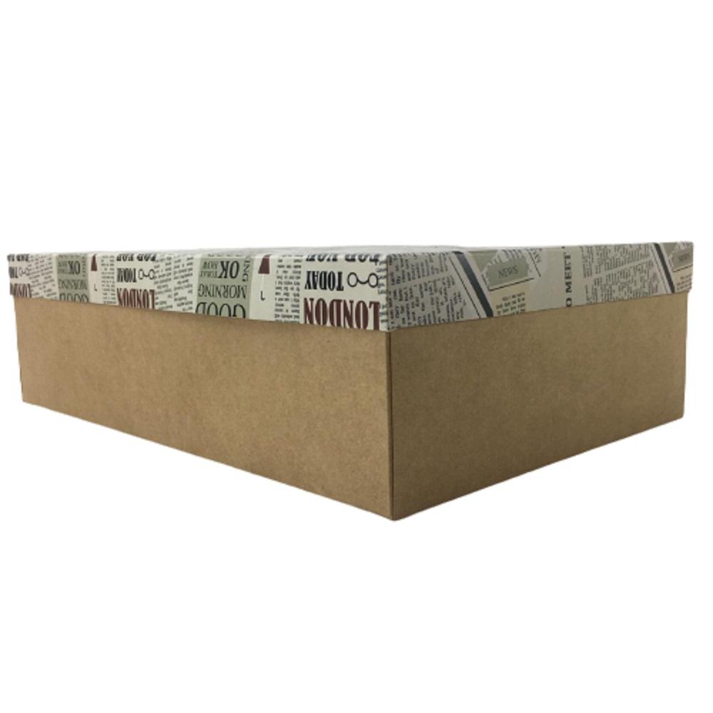 Caixa De Presente 360 x 240 x 100 cm Estampas Variadas