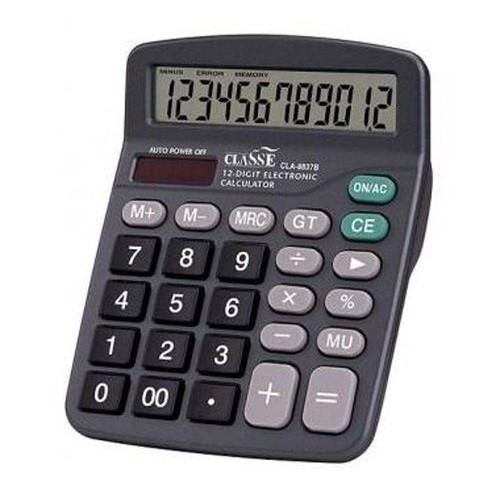 Calculadora De Mesa Classe 12 Dígitos Cla 9805 12
