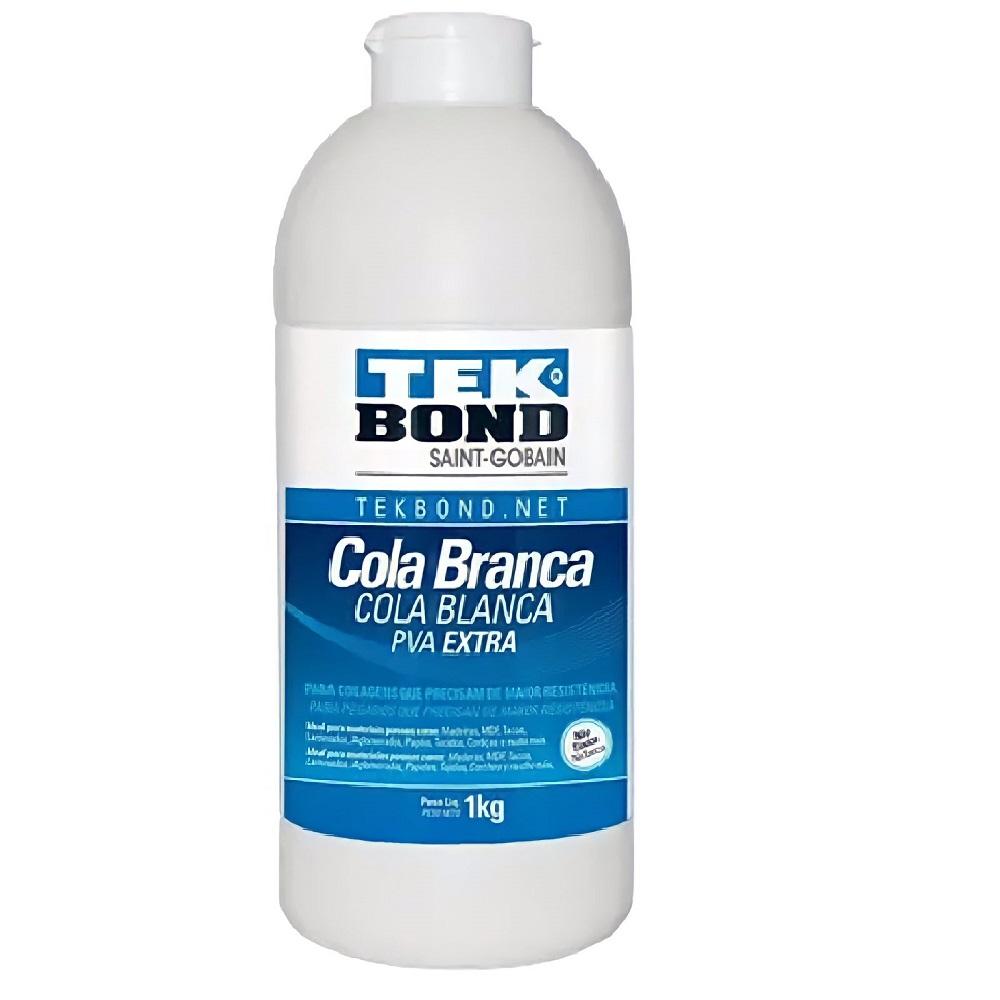 Cola Branca Pva Extra para Artesanato 1kg - TekBond
