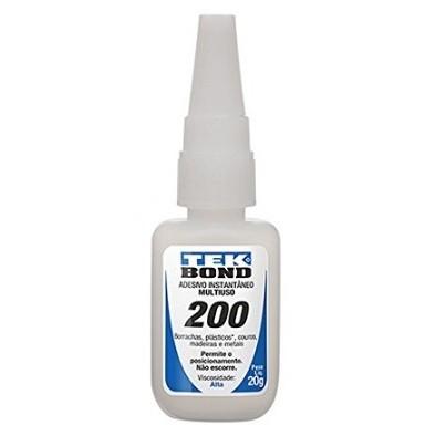 Cola iInstantânea Tekbond 200 - 20gr