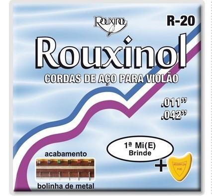 Encordoamento Violão Aço R-20 com Bolinha