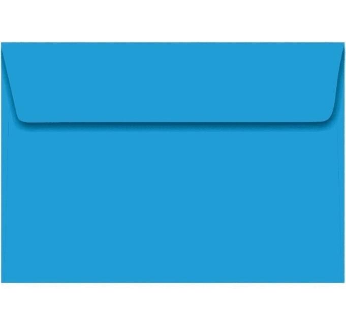 Envelope Convite  AZUL ROYAL 162x229 (100 Unidades)