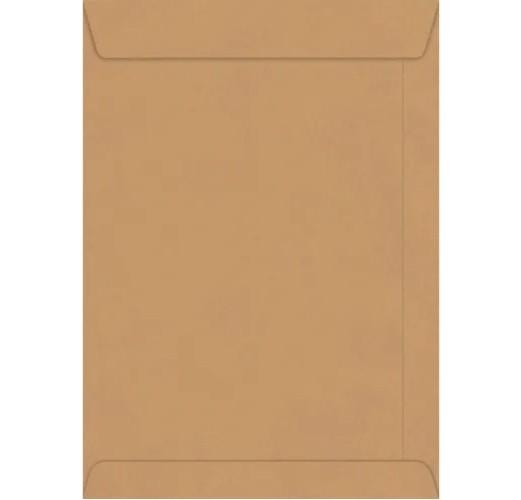 Envelope Saco Meio Ofício KN 25 176x250cm Kraft 80g (250 Unidades)