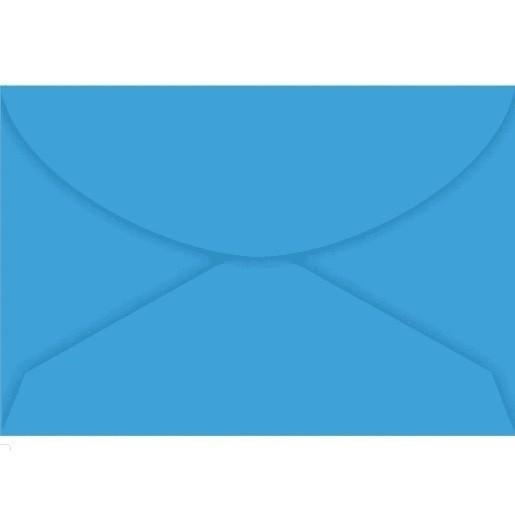 Envelope Visita AZUL ROYAL 72x108 (10 Unidades)
