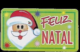 Etiqueta Decor Rolinho Natal 523