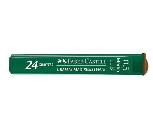 Grafite 0,5 HB 12 Tubos com 24 Grafites - Faber Castell