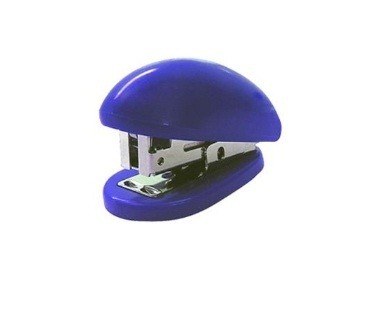 Grampeador Mini S5020b 26/6 Azul 10 Folhas - Eagle