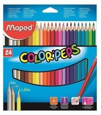 Lápis de Cor com 24 Color Pesp PT/12