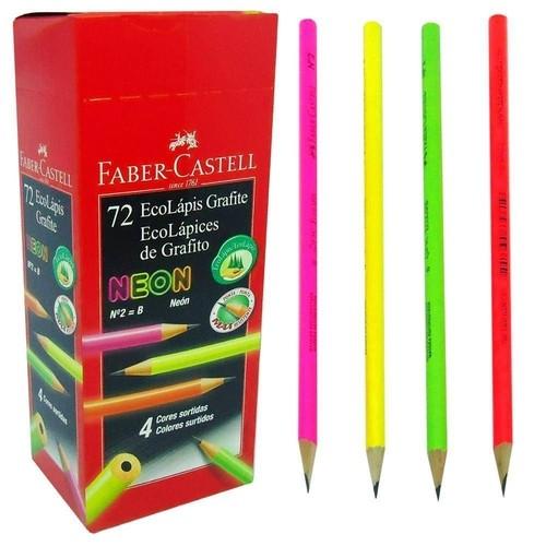 Lápis Preto Max Neon - Faber-Castell (72 Unidades)