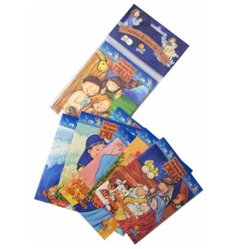 Livro - Mini História do Povo de Deus - Kit com 10 Unidades
