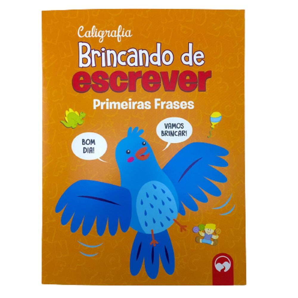 LIVRO CALIGRAFIA - PRIMEIRAS  FRASES