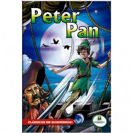 Livro - Clássicos em Quadrinhos: Peter Pan
