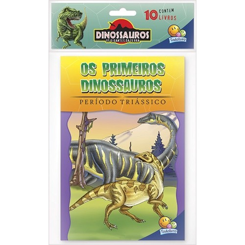 Livro - Dinossauros Os Gigantes Da Terra