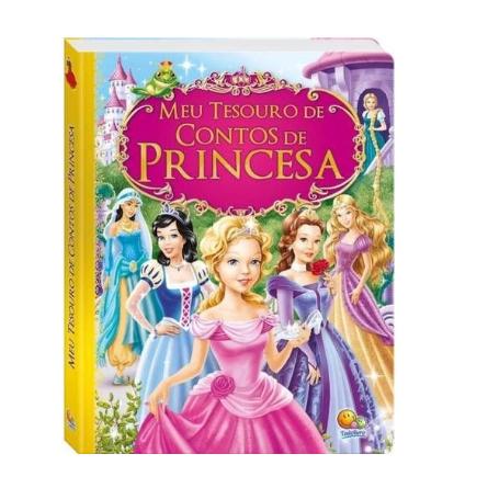 Livro - Meu Tesouro de Contos De Princesas