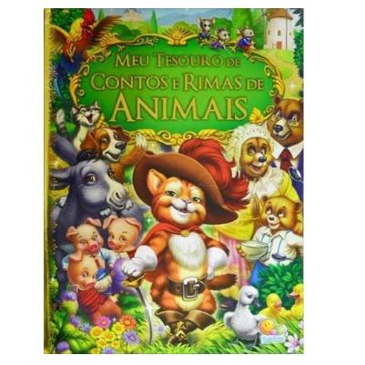 Livro - Meu Tesouro de Contos e Rimas de Animais