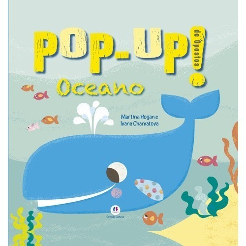 Livro - Pop-Up Oceano