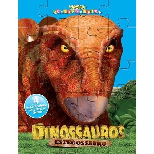Livro Quebra Cabeça - Estegossauro