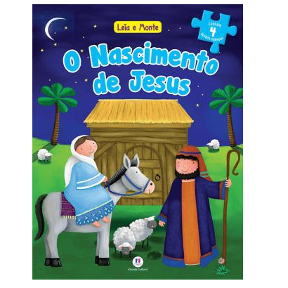 Livro Quebra Cabeça - O nascimento de Jesus