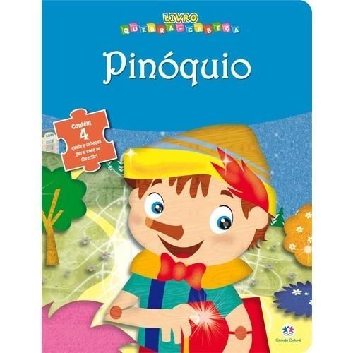 Livro Quebra Cabeça - Pinóquio