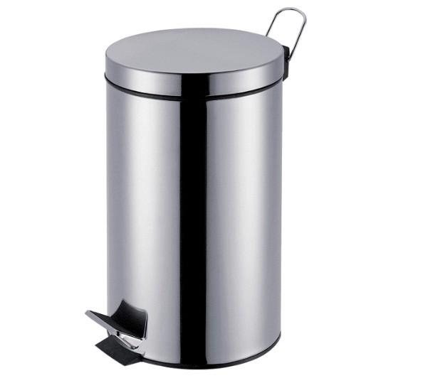 Lixeira Popular Agata 5L Aço Inox - Mor