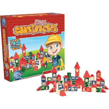 Jogo Mega Construções (45 Peças)