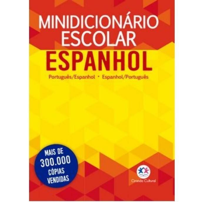 Minidicionário Escolar Espanhol (Papel Off-Set)