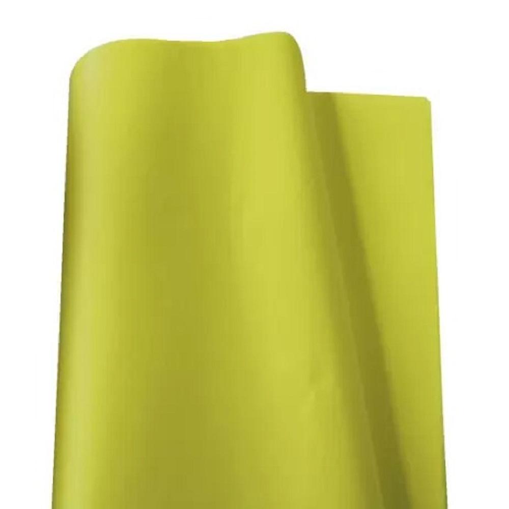 Papel de Seda 100 folhas 48 x 60 cm AMARELO
