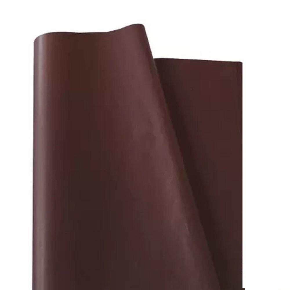Papel de Seda 100 folhas 48 x 60 cm MARROM