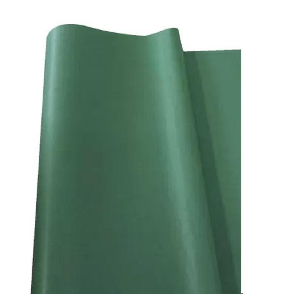 Papel de Seda 100 folhas 48 x 60 cm VERDE BANDEIRA