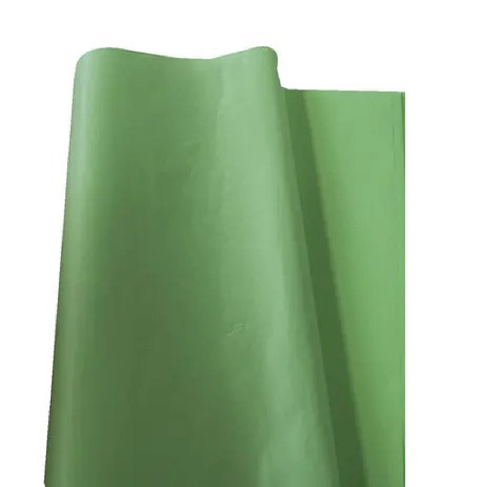 Papel de Seda 100 folhas 48 x 60 cm VERDE CLARO