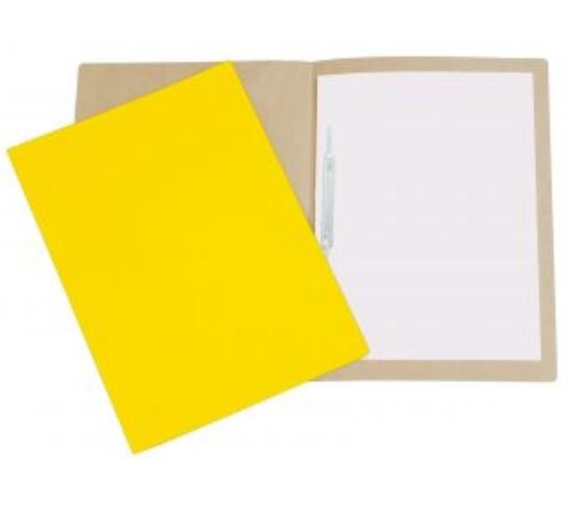 Pasta Cartão Duplex com Grampo AMARELO - Polycart