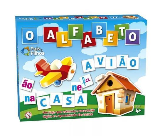 Jogo Pedagógico o Alfabeto