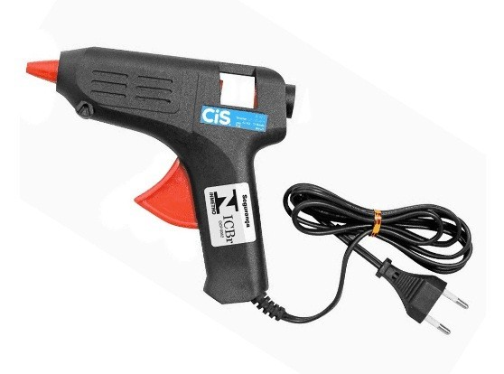 Pistola Injetora de Cola Quente Pequena S468 10W - Cis