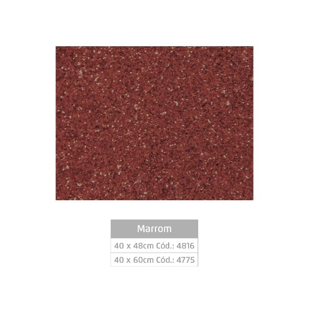 Folhas de EVA Glitter MARROM - Jocar