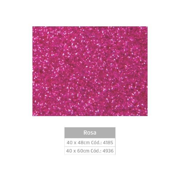 Placa EVA Glitter ROSA - Jocar