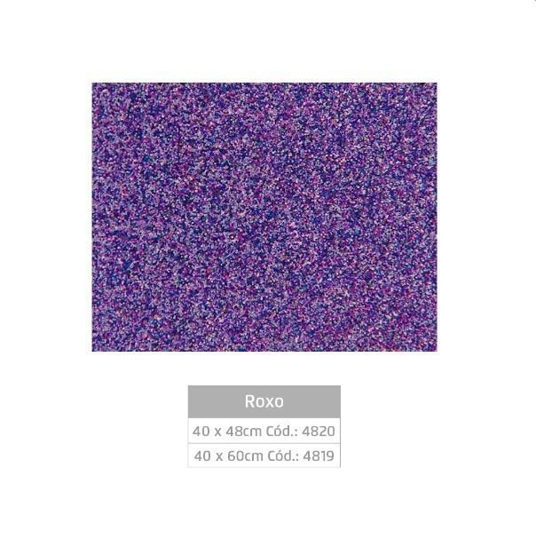 Folhas de EVA Glitter ROXA - Jocar