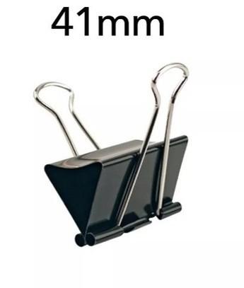 Prendedor de Papel 41mm (12 Unidades)