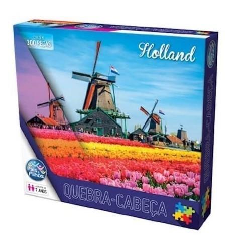 Quebra Cabeça 300 Peças Holland - Pais & Filhos