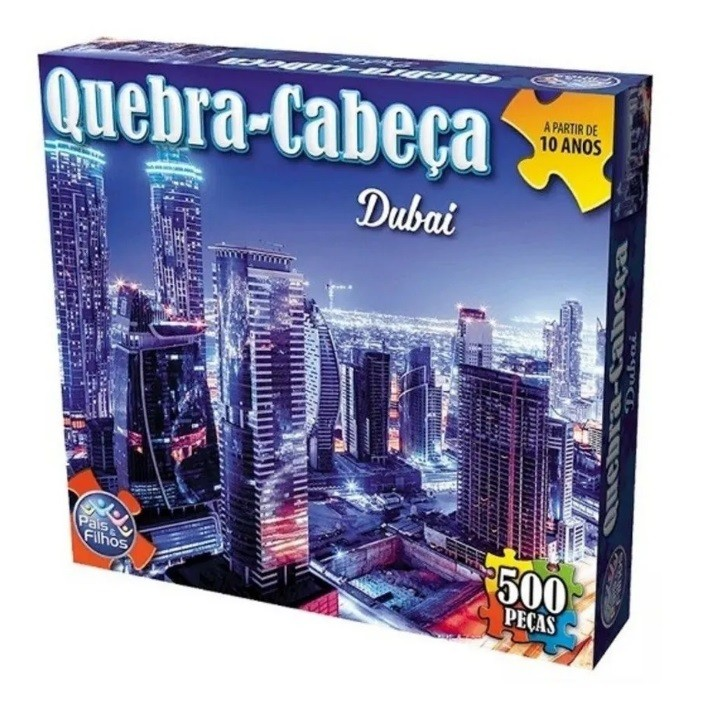 Quebra Cabeça 500 Peças Dubai - Pais & Filhos