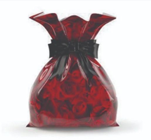 Saco Metalizado - Rosas