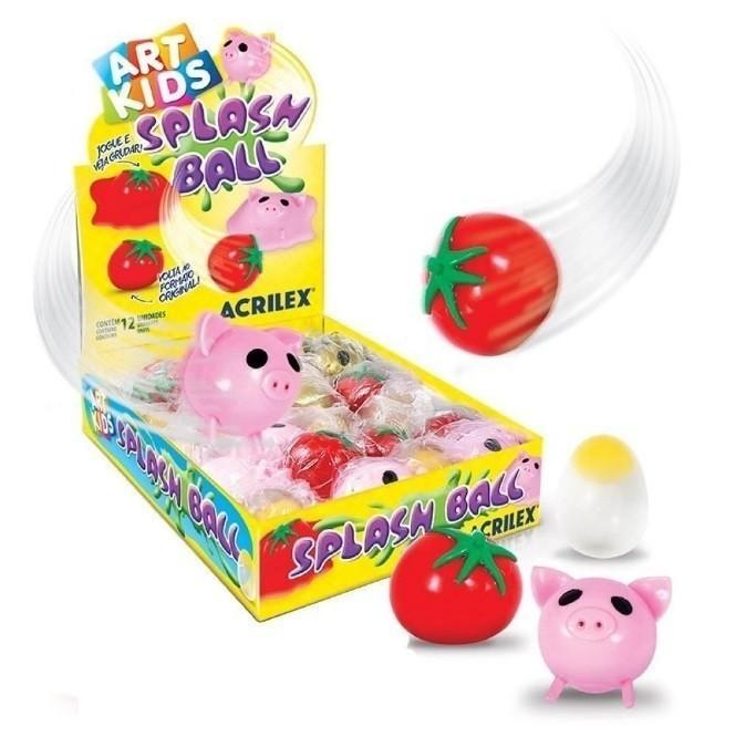 Splash Ball Bolas Grudentas Unitária E Sortida - Acrilex