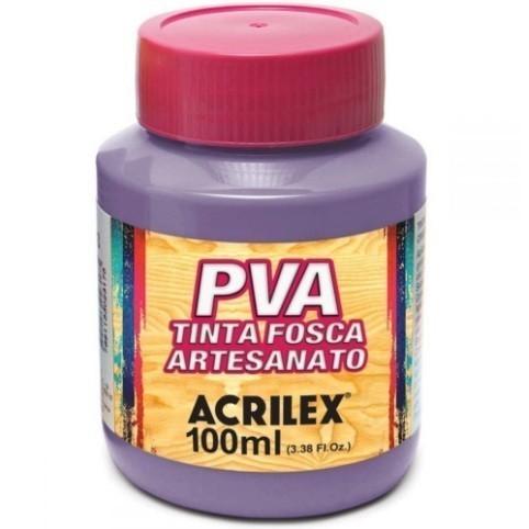 Tinta Fosca Para Artes 100ml LILÁS 528 - Acrilex