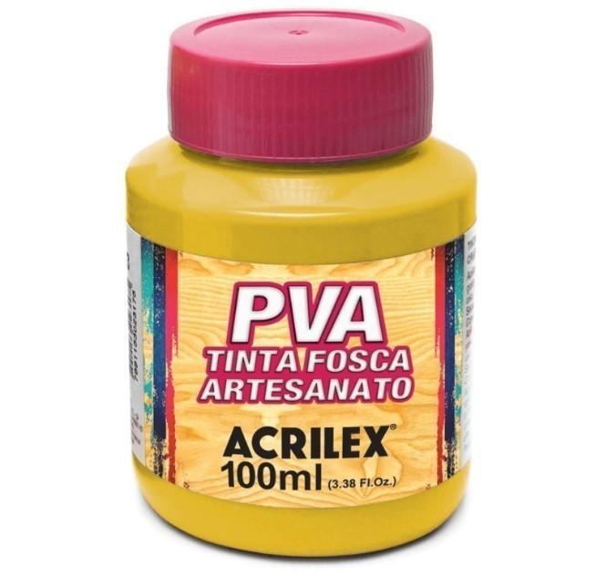 Tinta Fosca Para Artes 100ml AMARELO OURO 505 - Acrilex