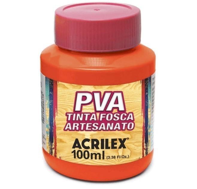 Tinta Fosca Para Artes 100ml AZUL LARANJA 517 - Acrilex