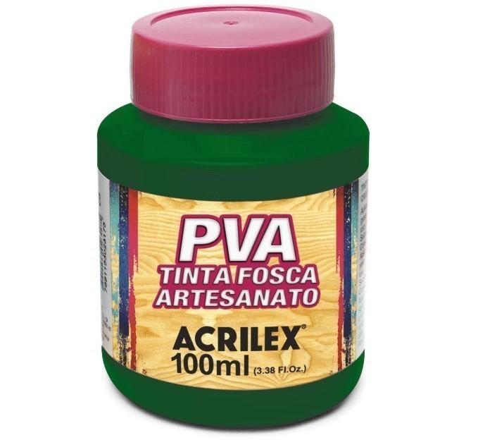 Tinta Fosca Para Artes 100ml VERDE MUSGO 513 - Acrilex