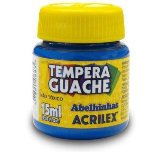 Tinta Guache AZUL TURQUEZA 15ml 501 - Acrilex