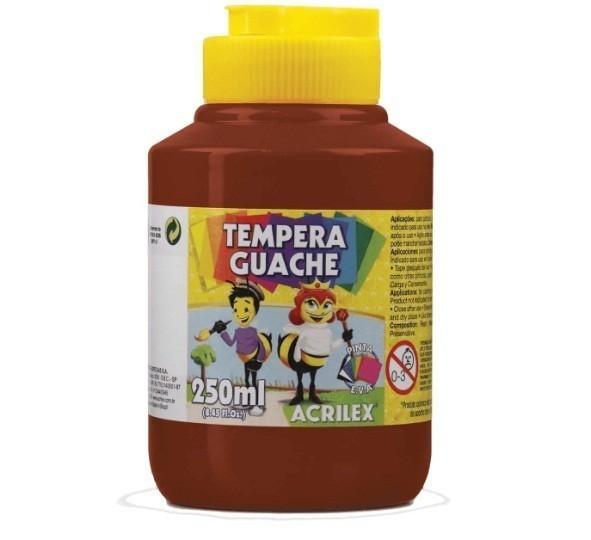 Tinta Guache MARROM 250ml - PT 03 - 531 - Acrilex